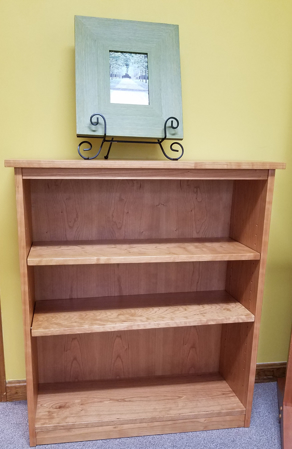 "Picture of Shaker Cherry 32"" Bookcase"